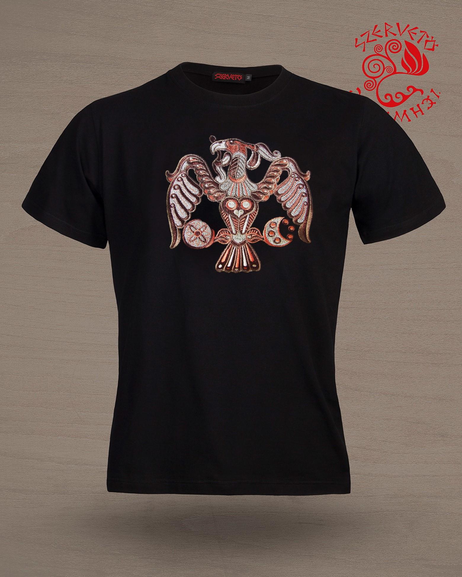 7807ab8e59 Szervető-rakamazi turul póló - drapp | Férfi pólók | Szervető webáruház