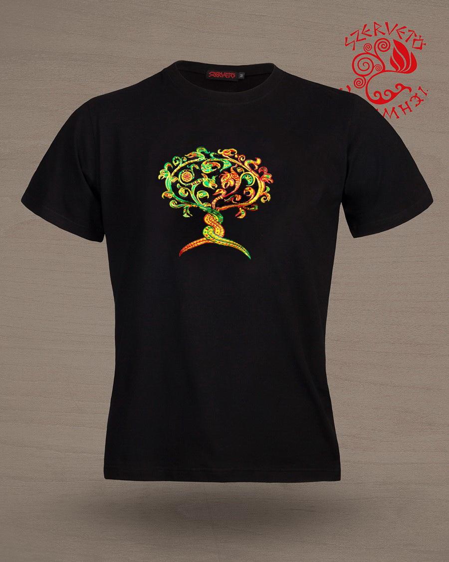 5779babbb8 ... Férfi ruházat · Rövid ujjú pólók; Avar életfa-kígyógriff póló. Avar  életfa-kígyógriff póló